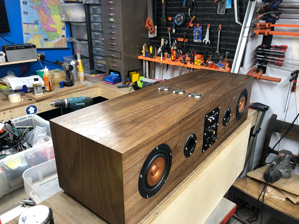 DIY Bluetooth boombox